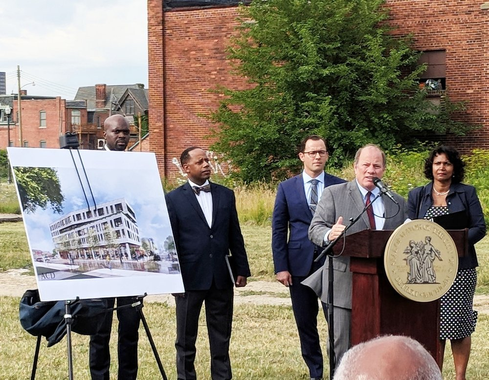 """We are building one of the largest mixed-income communities in the United States"" - Mayor Duggan"