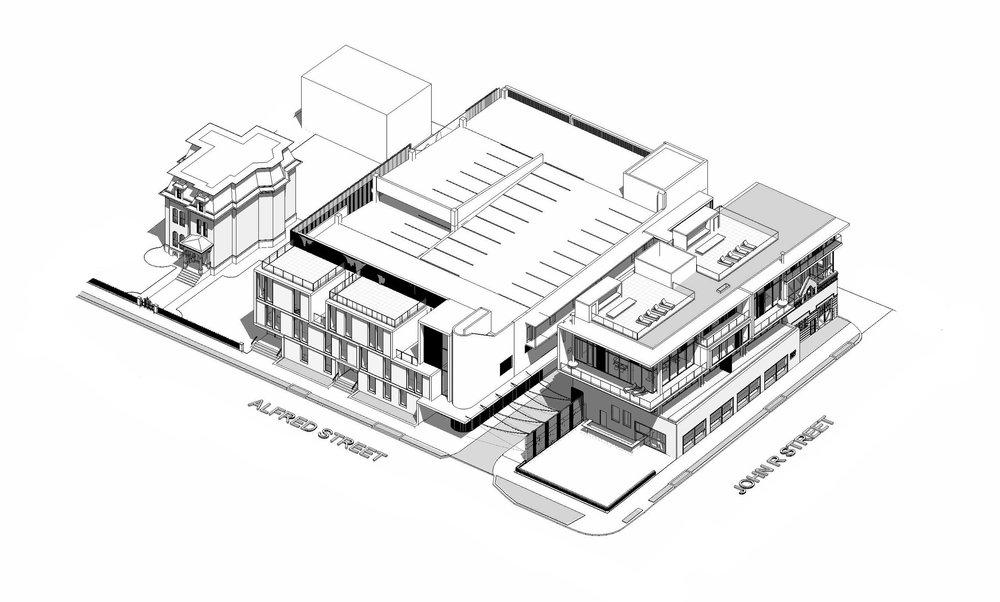2827 AXONOMETRIC - OOMBRA ARCHITECTS ©