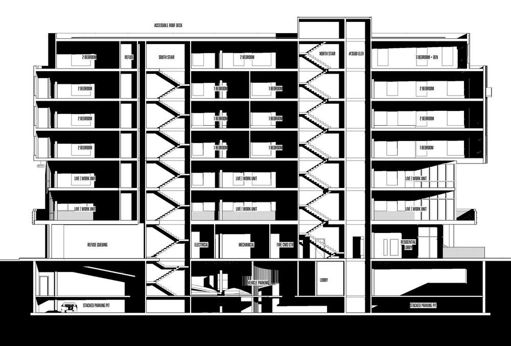112 SECTION - OOMBRA ARCHITECTS ©