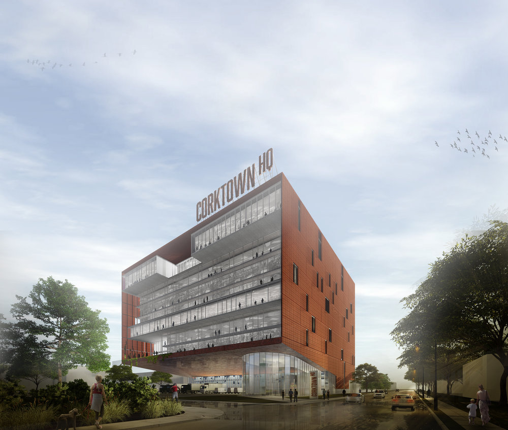 STREET LEVEL RENDERING - OOMBRA ARCHITECTS ©