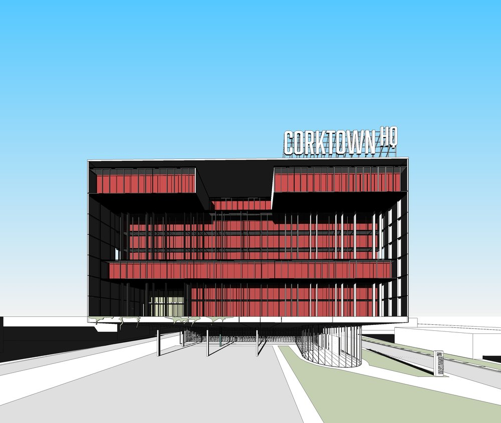 Front Elevation - OOMBRA ARCHITECTS ©