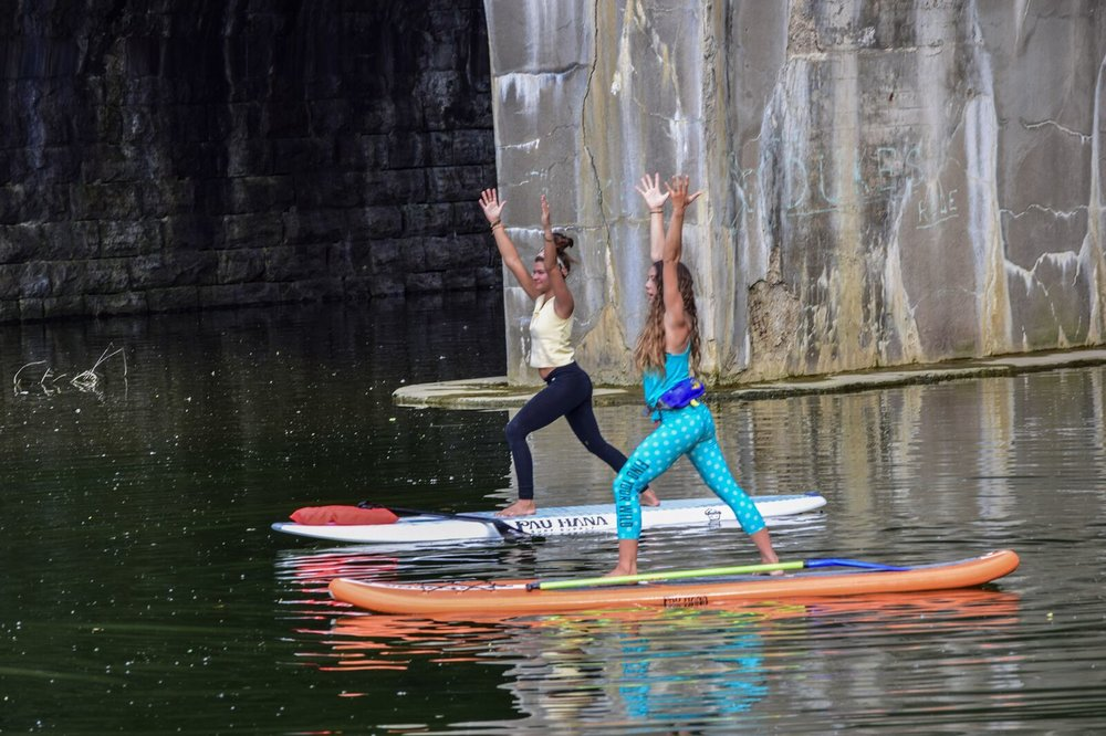 Photo courtesy of SUP Erie Adventures