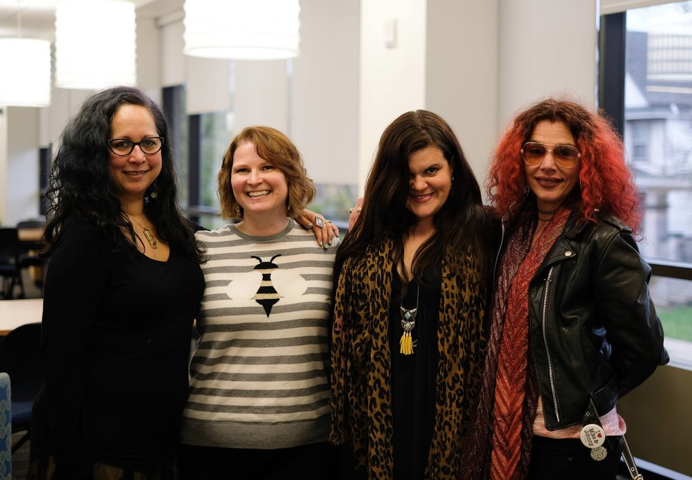 ArtReach WNY at Michael Mararian's opening at the fine art gallery in the Canisius Library.  (Photo Credit Julian Montague)