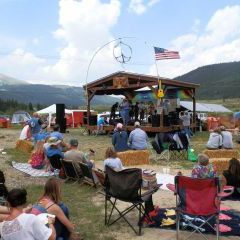 ANNUAL FESTIVAL IN THE CLOUDS - AlmaJuly 2019This free outdoor art and music festival in Alma includes about 25 bands and 40 regional artists annually. More Info >
