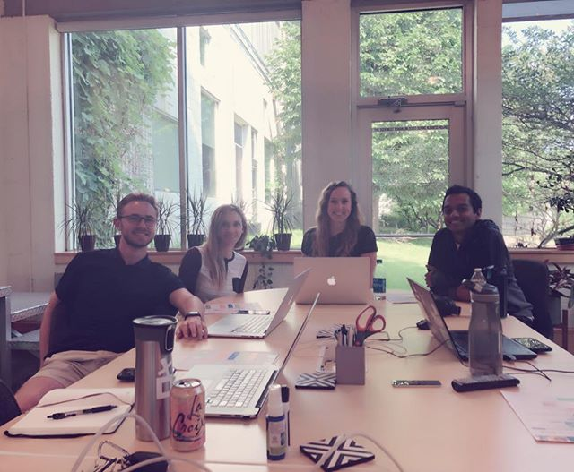 Between designing and prototyping #augmentedreality product, #summerinterns at #Praxik learned how to update their #linkedin profiles to be more searchable and attractive candidates. Thanks Ali for sharing your insights with us!