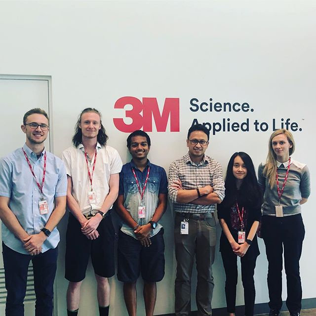 Thank you @3m for hosting us today and sharing your inspiring stories about #uxdesign and #uxresearch We have so much to learn from you!