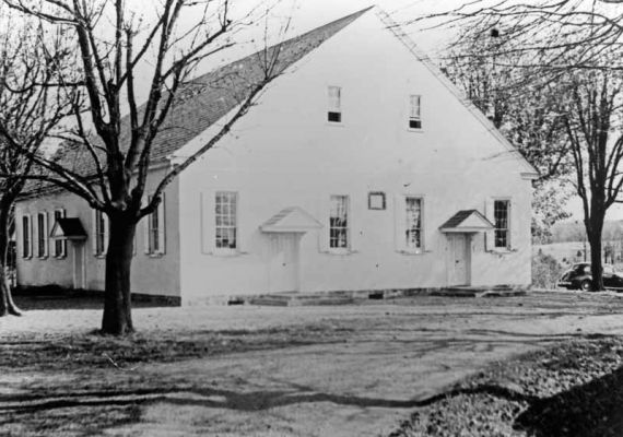 This is the third church building which stood from 1872 to 1948.
