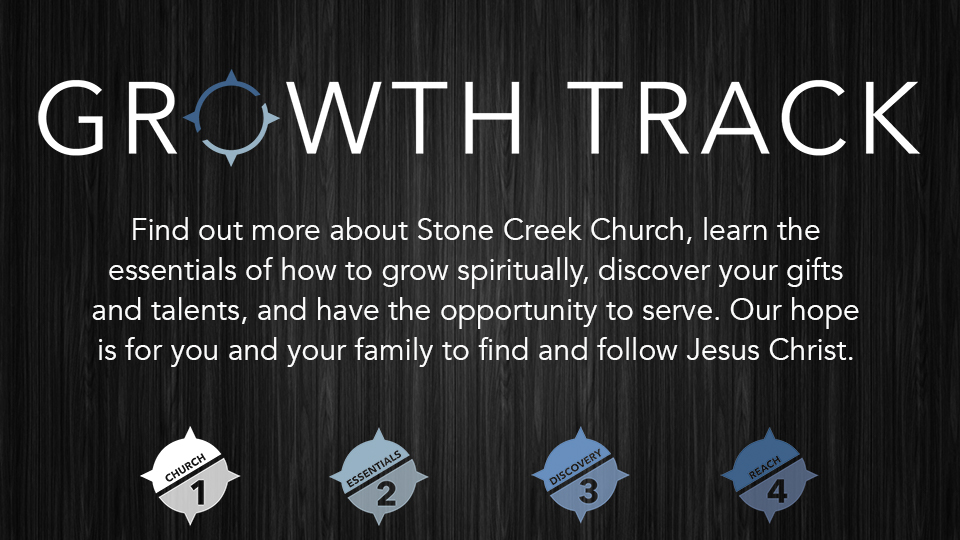 Growth TrackSundays in February  - Growth Track begins February 4th. The Growth Track takes place four consecutive Sundays, starting with Church 101. We invite you to jump in at any time. Click HERE for more information or to sign up for Growth Track.