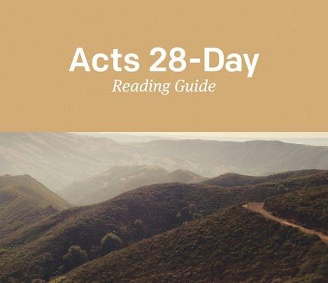 Click to Start Reading Plan