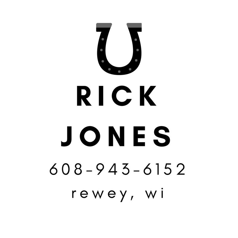Rick Jones - Rewey Farrier