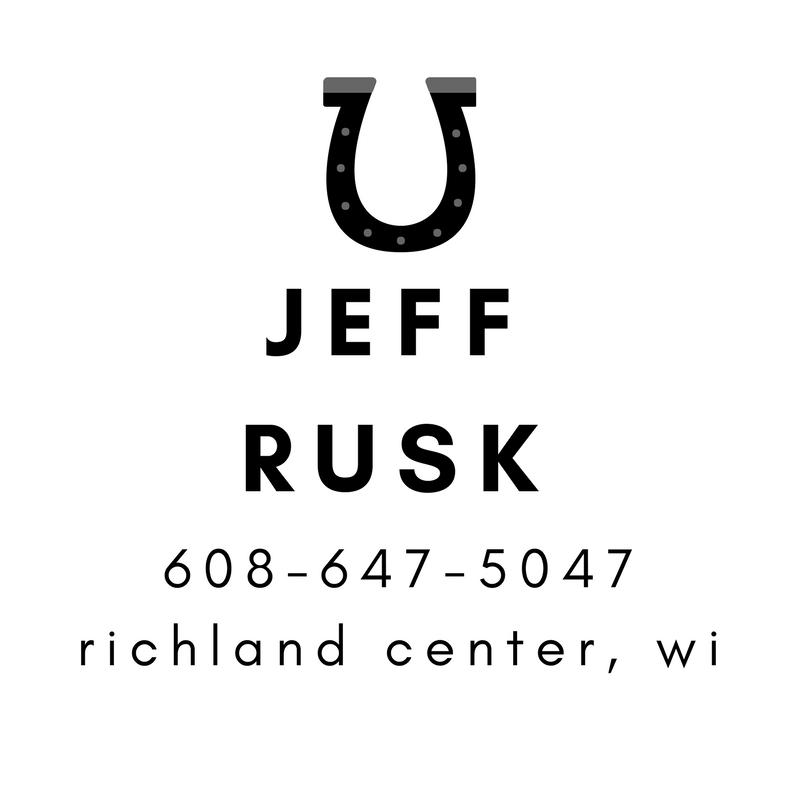 Jeff Rusk - Richland Center Farrier