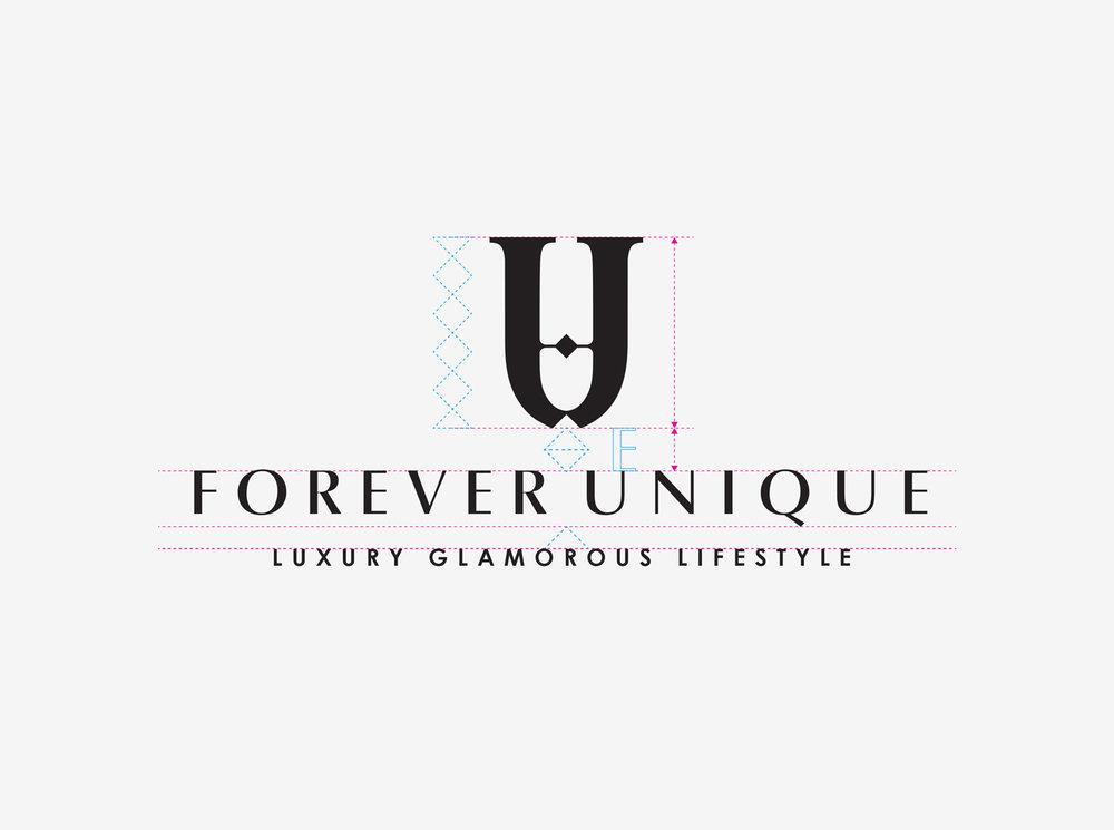 Forever Unique logo design