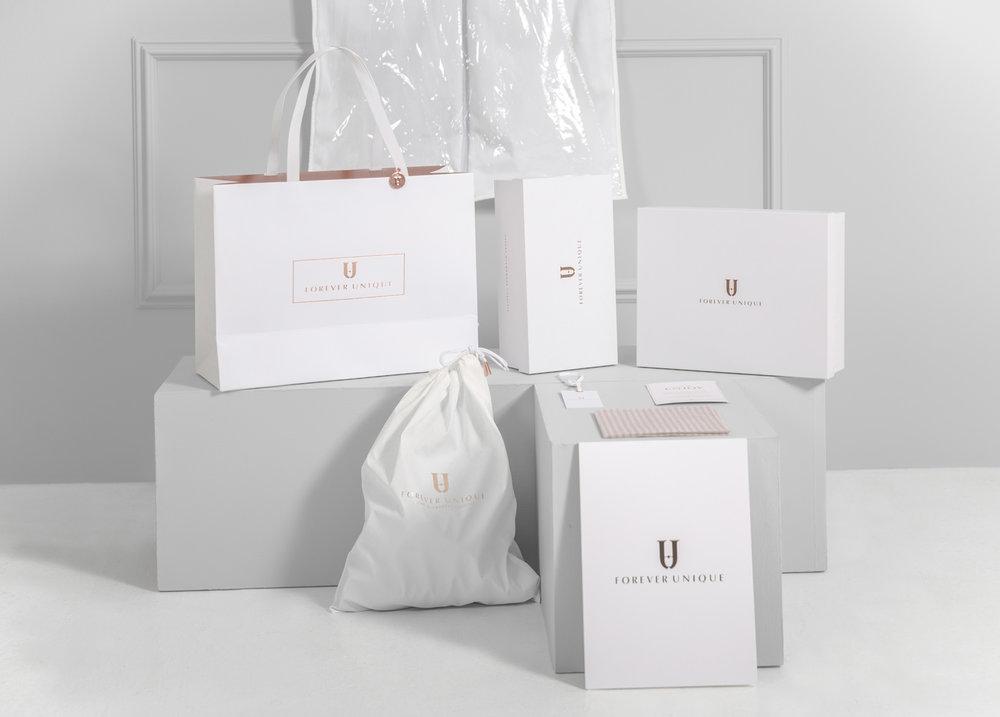 Forever Unique brand design
