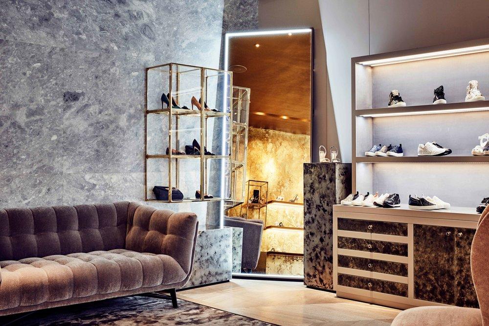 Gina Shoes Sloane Street Interior Design