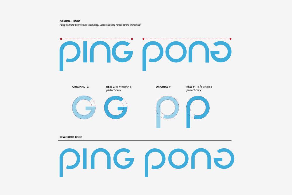 Ping Pong Logo design
