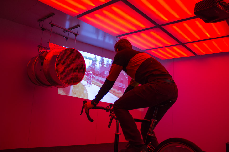 Rapha unveils 'The Vault' for testing clothes