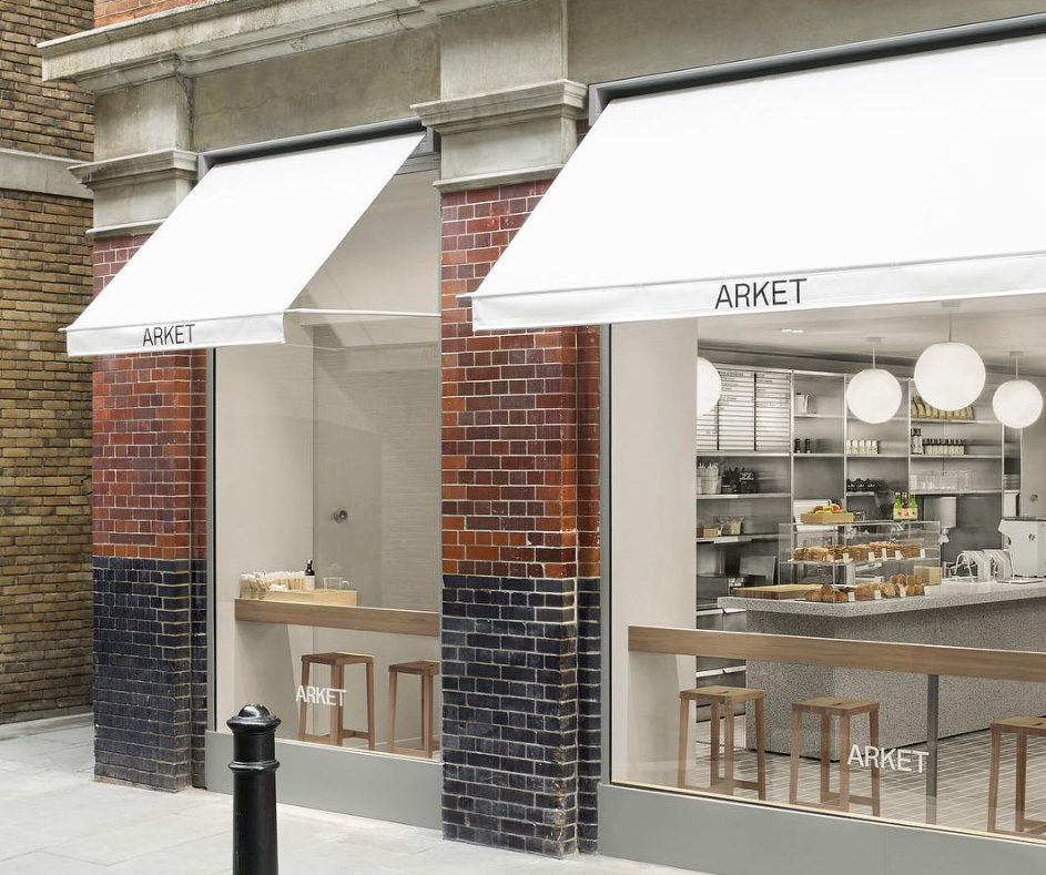 Arket increase consumer dwell time with in-store café