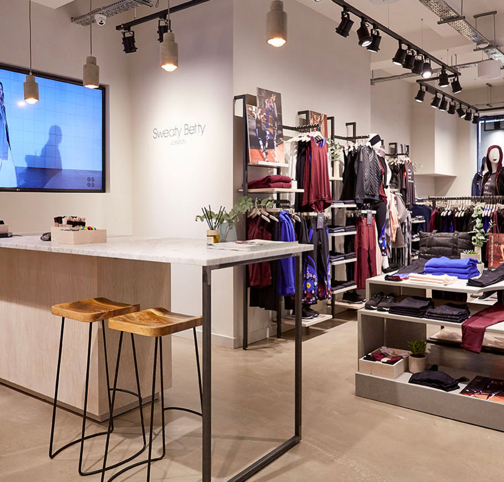 Sweaty Betty's No.1 Carnaby 'Store of the future'