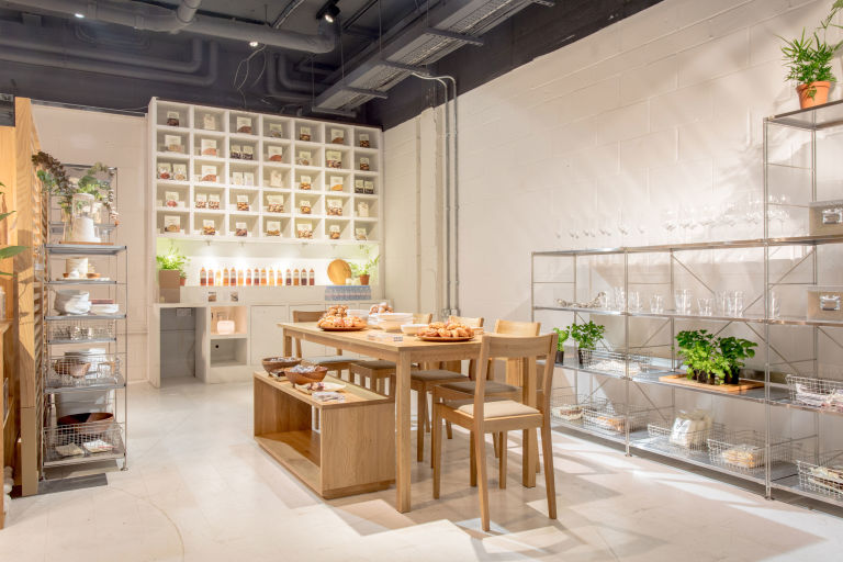 Muji's Covent Garden pop-up 'Muji Life'