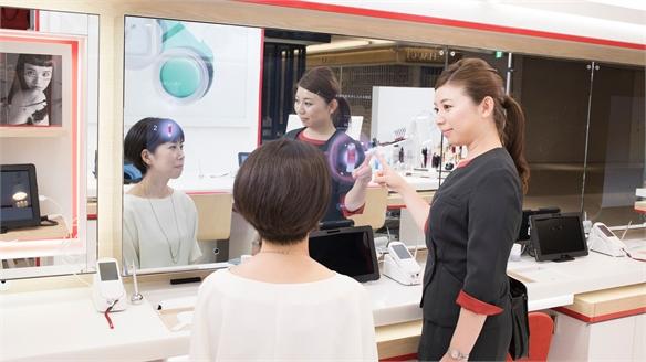 Shiseido beauty store