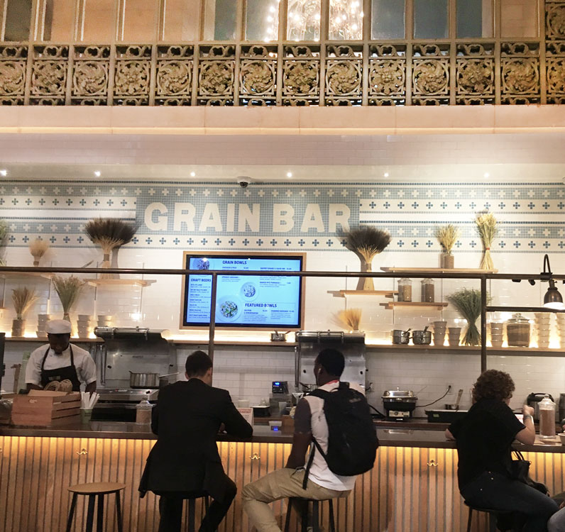 Grand Central Station foodhall