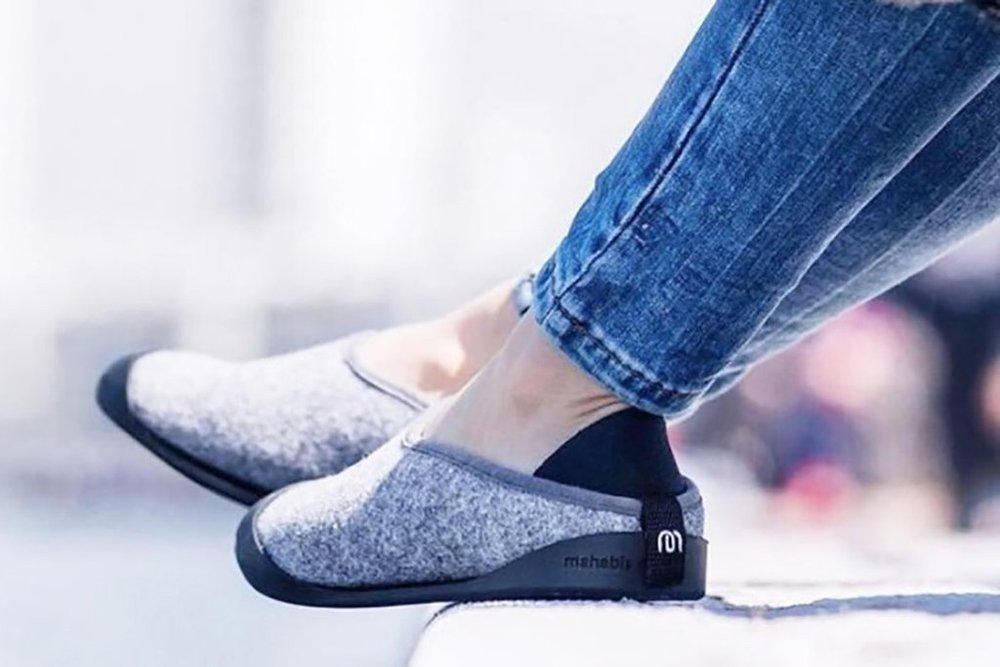 Mahabis   Slippers with a collapsible heel for indoor and outdoor use, adapting to versatile lives and enhancing daily comfort