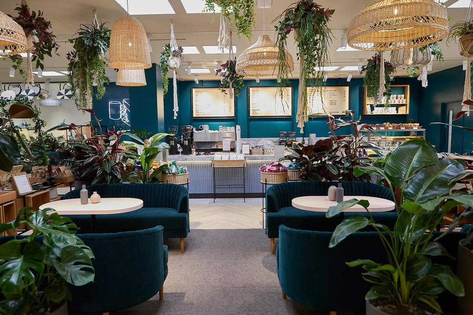 H&M:  Conscious collections, garment recycling and now their own eco-friendly cafe.. A leader for sustainability on the high street.