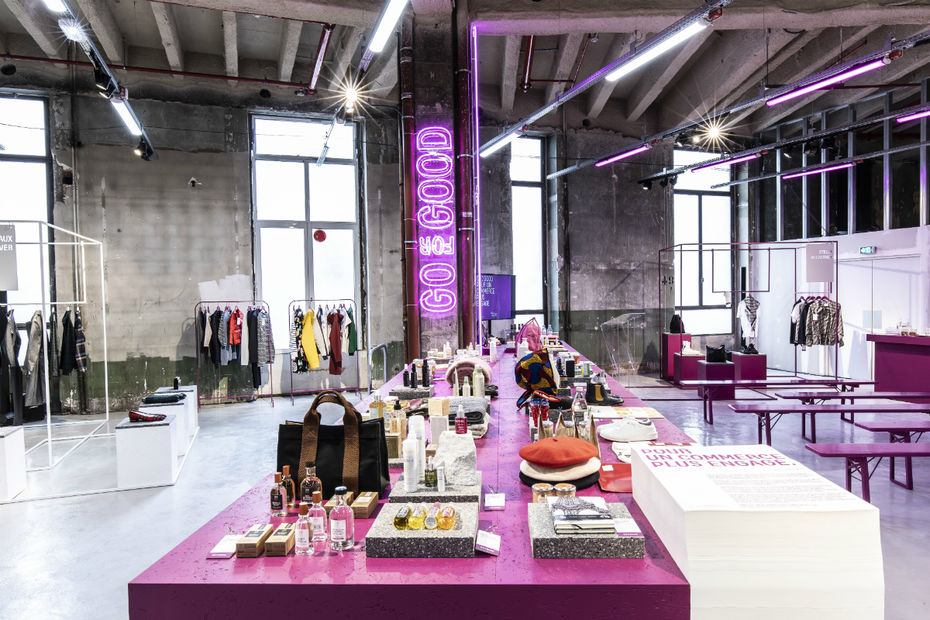 Go for Good:  Galeries Lafayette initiative for more responsible fashion, promoting creation for the common good. A department store taking the lead in their brand selection criteria.