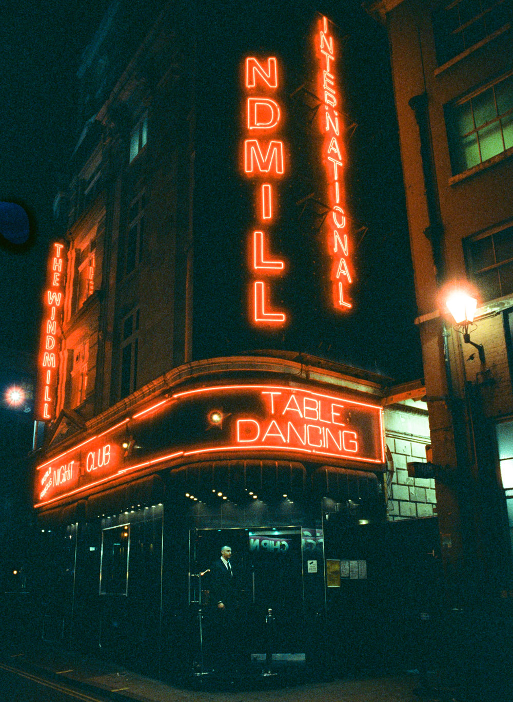 The Windmill - Soho, London. CineStill 800t
