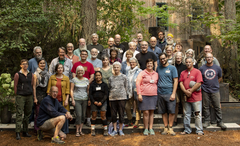 Frogwood 2018 participating artists.