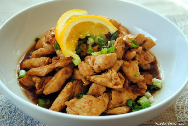 Bye Bye Trader Joe's orange chicken. Hello Healthier more exciting alternative! - We found this great recipe for an orange chicken that is sure to grab you by your tastebuds. In a healthy way. Check it out!