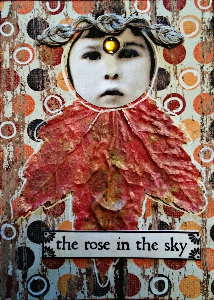 The rose in the sky -
