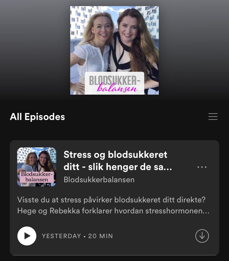 NY PODCAST-SERIE: Nettavisen/Lyd og Livslyst & Motivasjon AS lanserer BLODSUKKERBALANSEN!