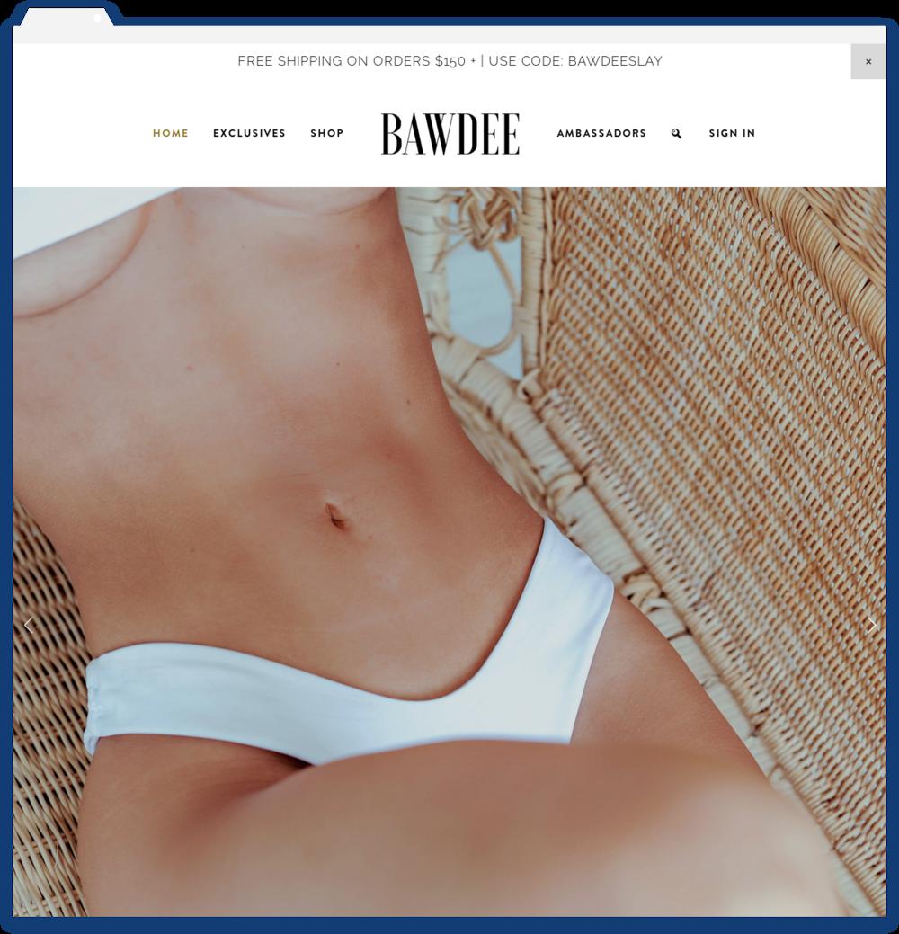 Bawdee Swimwear -