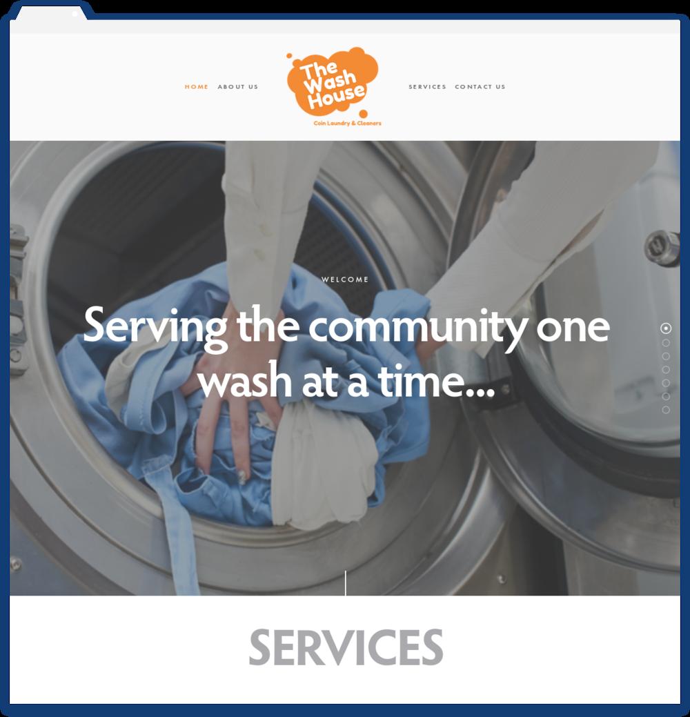 The Wash House Laundromat -