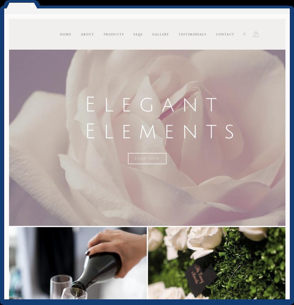 Elegant Elements, Event Planning -