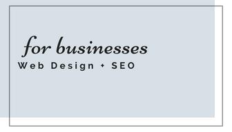 Web Designer for Squarespace