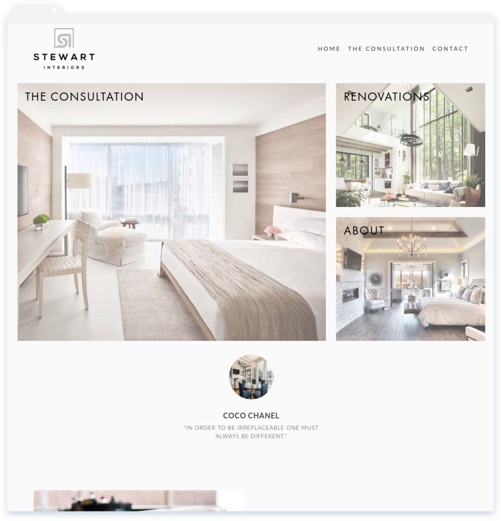 """Stewart Interiors, Interior Design - """"Lisa took my vision and made it a reality in 1 week. I gave her all of my images and she made it happen. I am in love! Thanks Lisa.""""-Marlee Stewart"""