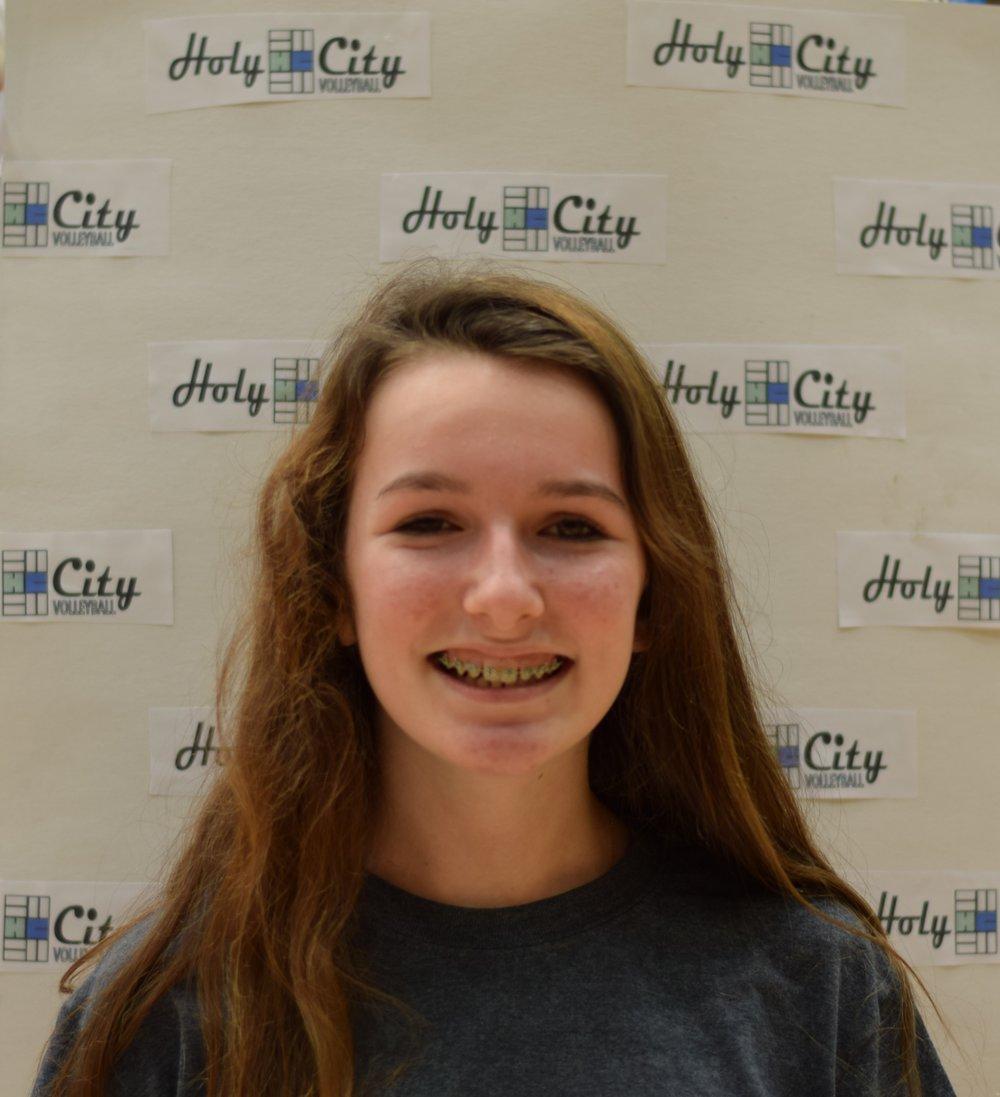 Ava Allen #2 DuBose Middle 8th Grade - FUN FACT: Travels a lot!
