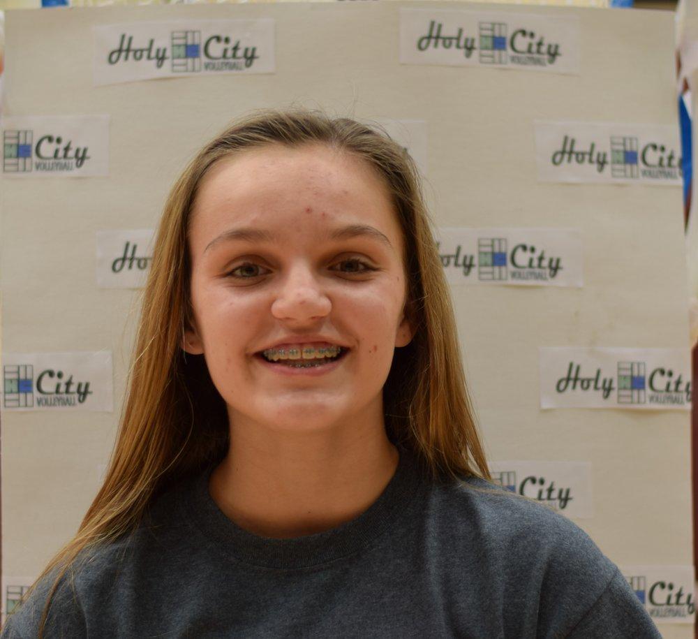 Caroline Butz #4 Ashley Hall 8th Grade - FUN FACT: Has her advanced open water dive certification