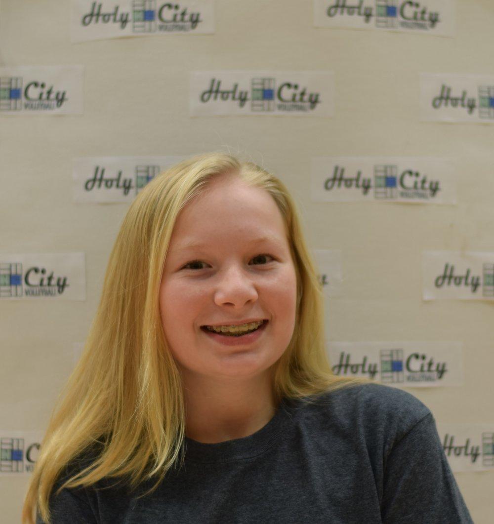 Ella Small #18 Mason Preparatory 8th Grade - FUN FACT: I'm tiny and my last name is Small