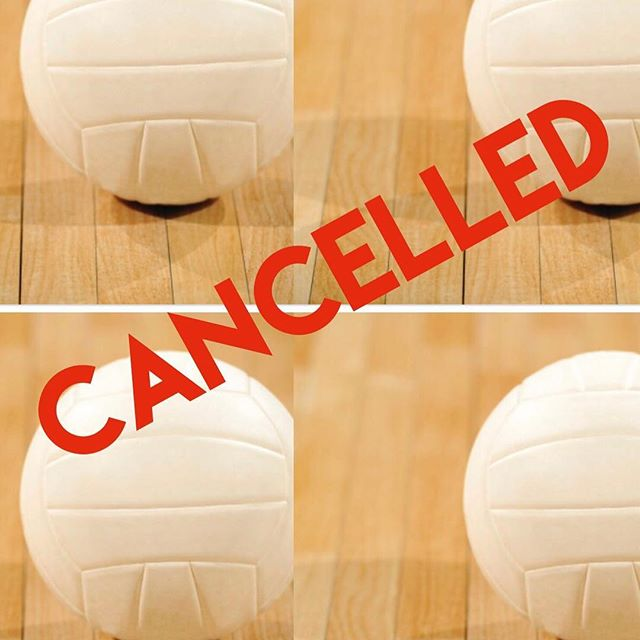 The club volleyball info meeting is cancelled for today at 5:30. TBD on rescheduling. Everyone be safe!