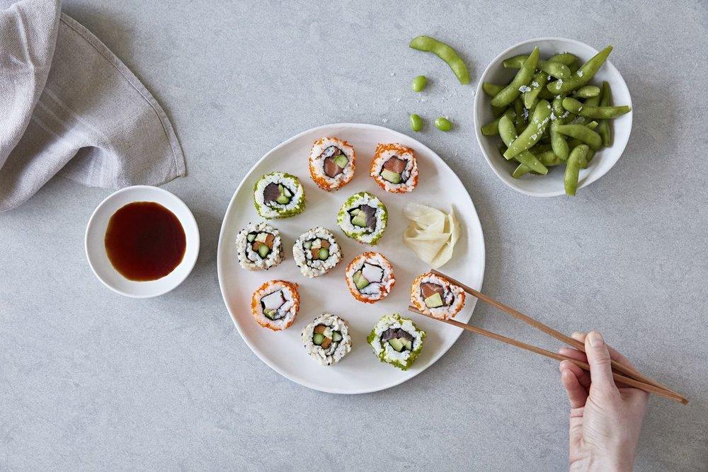 Food styling for Ichiba