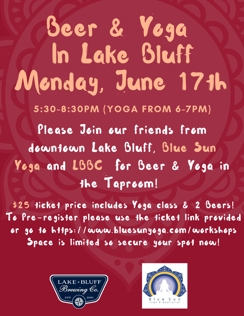 Events — Lake Bluff Brewing Co