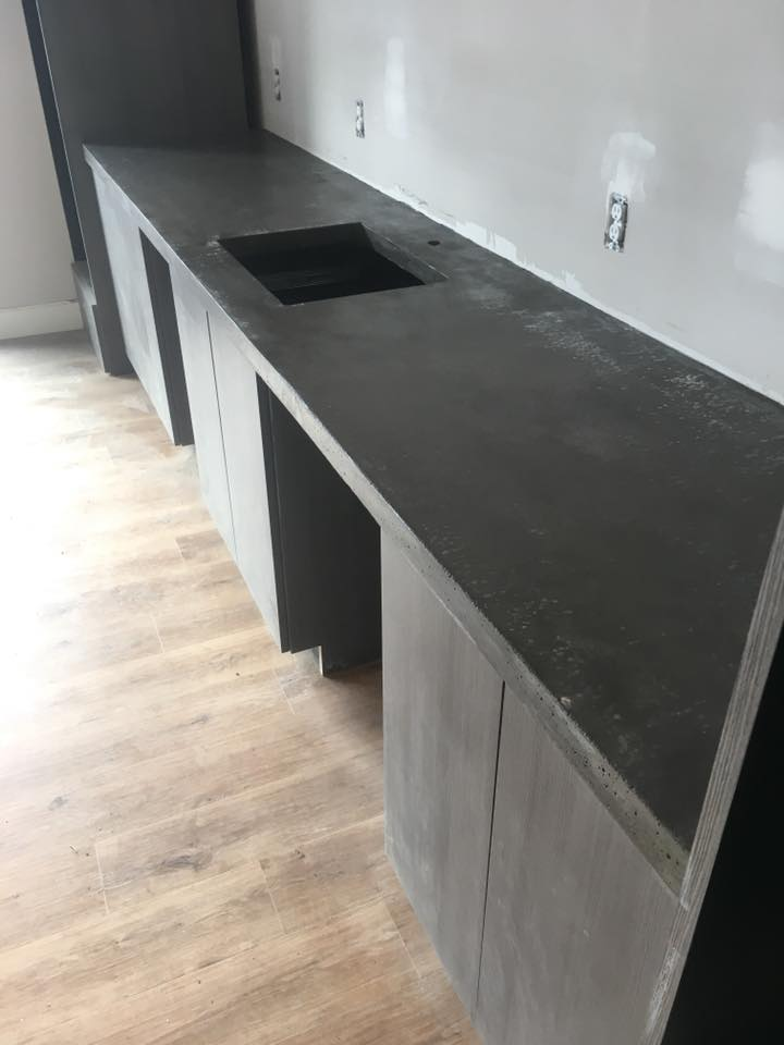Counter Top completed at a home near Alliance