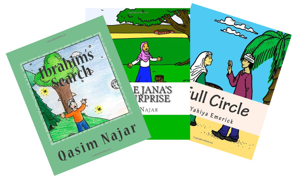 Story books and activity books