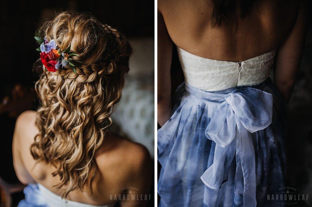 bayfield-wi-boho-style-beach-wedding-bride-with-flowers-in-her-hair.jpg