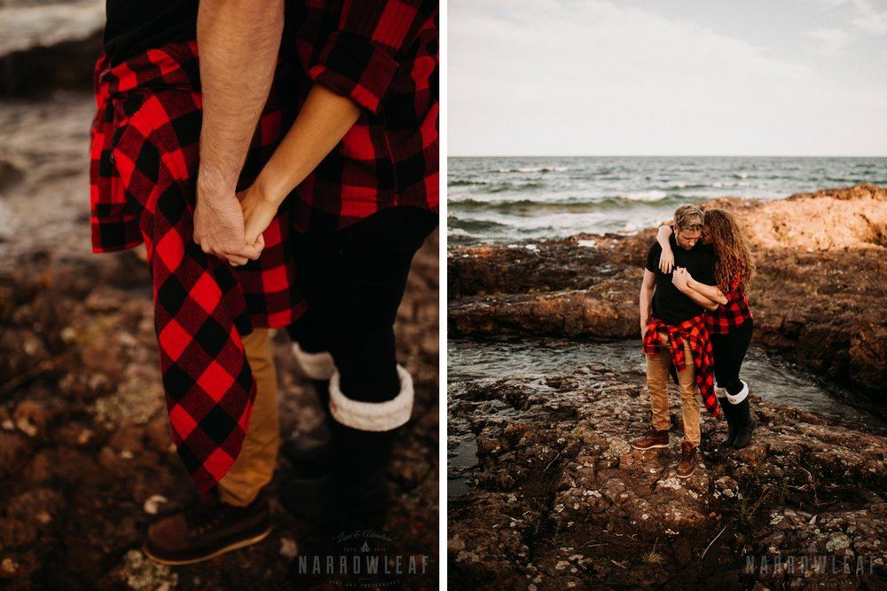 Two Harbors Minnesota Engagement Photographer