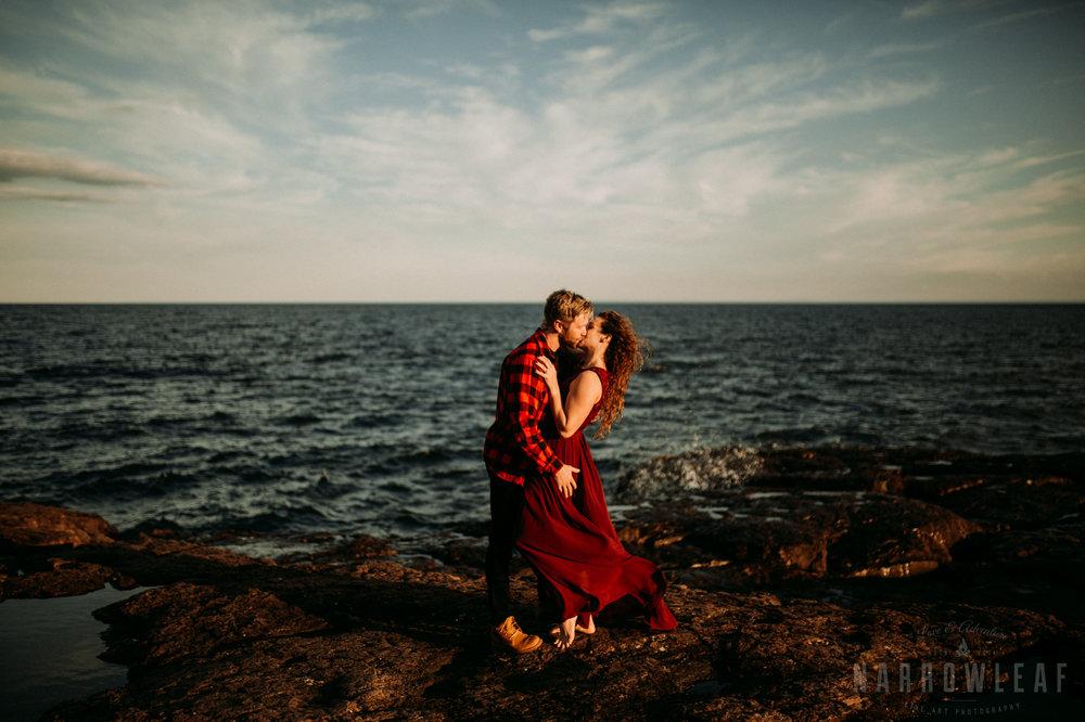 North Shore Elopement Photographer