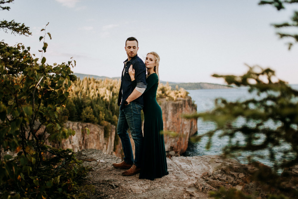 Elopement at Palisade Head in Minnesota